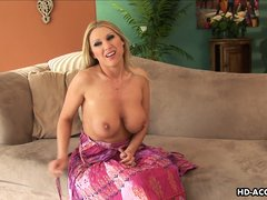 Beautiful mature Devon Lee, has it all. Her big soft breasts are sumptuous, round bubble butt is gor