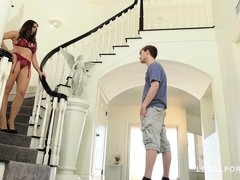 Chanel Preston - Dad Out Of Town Step Mom Wants My Dick