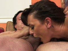 pussy juice everywhere @ the squirting housewives #03