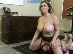 Horny Teacher Eva Notty Enjoys Face Sitting