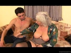When granny Marinoka has visitors, she gives her best to make them feel great. This mature whore is