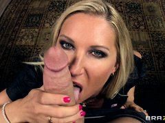 Devon Lee, a well known young cock hunter, a gorgeous busty milf with nice big tits got another youn