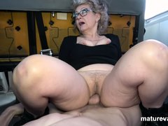 Veronique Horny Granny Cant Wait For You