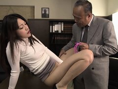 It's an anime lovers sex dream come to life in this scene. These porn actors and actresses recreate