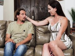 Artemisia Love - Artemisia Is Helping Her Step Son Get Ready For School