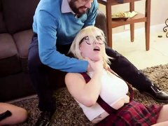 threesome bdsm session, not your typical family next door