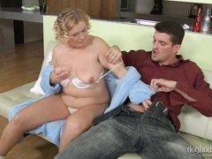 my friend's horny mom @ grannies wet panties