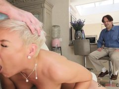 Short Haired Blonde With Big Boobs And Ample Curves, Ryan Keely Cheated On Her Husband