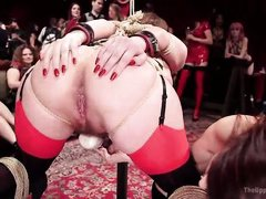 bound submissives fucked in front of an audience