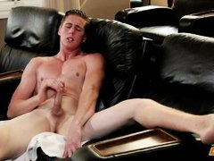 shane jerking off in front of the camera