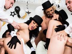 Chanel Preston & Kristina Rose & Phoenix Marie & Danny D & Jordi El Nino Polla &