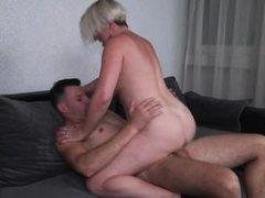 busty mature likes cum