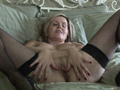It's high time, that this slutty mature lady spends some quality time, playing dirty with herself. T