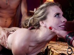 couple finds a submissive chick to satisfy their dirty fantasies