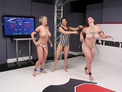 busty beauties battle for supremacy