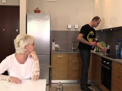 Mature blonde woman, Malgorzata likes to get fucked in the ass, until she has an orgasm