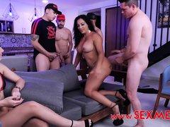 Gangbang Reality Show - Latina Porn Video