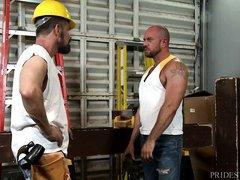 hunky carpenters get naughty