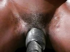 ebony milf was punished by her lesbian lover