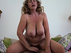 Camilla A is a blonde plumper who seems to like her handsome neighbors cock