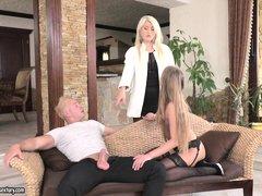 naughty sofi learns how to please cock