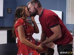 beautiful busty latina cheats on her husband