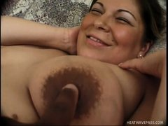 Nothing makes mom Teal happier then a hard cock, well perhaps two hard cocks. She feels horny and de