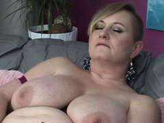 Silana is old but her sexual hunger increased with age and till now, nobody gave her the real sexual