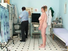 she is a big woman and her doctor is a pervert. He has no interest in examining her for what is wron