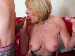 Watch the mature ladies using all their experience to offer maximum pleasure to their partners. In t