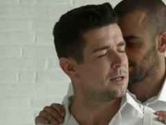 gays,gay blowjob,gay kissing,tattooed gay,muscled,talking,drill my hole,men.com,damien crosse,trento