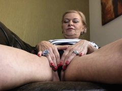 Ilana is one hell of a hot, slutty milf. She loves to please herself when she is alone. Watch her fi