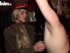 Mistress Cruella knows everything, about making a sex slave happy. She enjoys punishing her slaves a