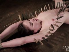 juliette march gets her fair share of pain and pleasure