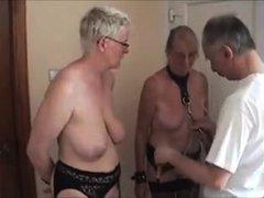 Fun with my mature Dutch slaves