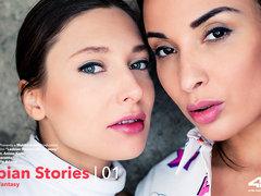 Lesbian Stories Vol 1 Episode 4 - Fantasy - Anissa Kate & Talia Mint - VivThomas