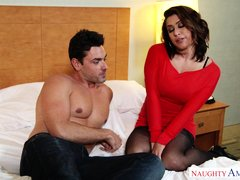 sultry wife eva angelina works my dick