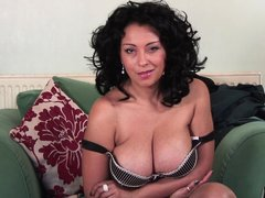 Those are some sexy melons and this brunette mature knows how to handle them. Danica Collins is a wh