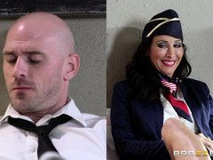 Lezley is a high flying air hostess and her work can keep her totally busy and stressed out. That's