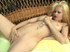 If you are addicted to mature sluts, you can check out this video starring Eloisa. The blonde lady s
