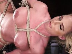 rope bondage and pussy torture for phoenix marie