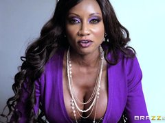 My boss, Diamond Jack, busty ebony mature, called me in for a serious conversation. I was late, so w