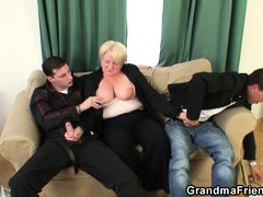 Me and my friend like older woman, like this slut right here, Ilona. She is a mature blond granny wh