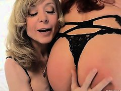 Sexy Vanessa and the Legendary Nina Hartley