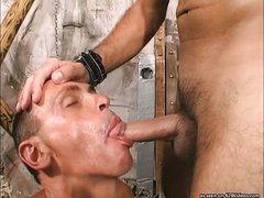 strong gay's bdsm encounter is a treat to watch