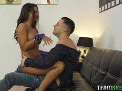 harcore sex with busty latina