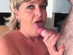 She's one of those mature whores that just can't have enough. Watch Monieka playing with her big whi